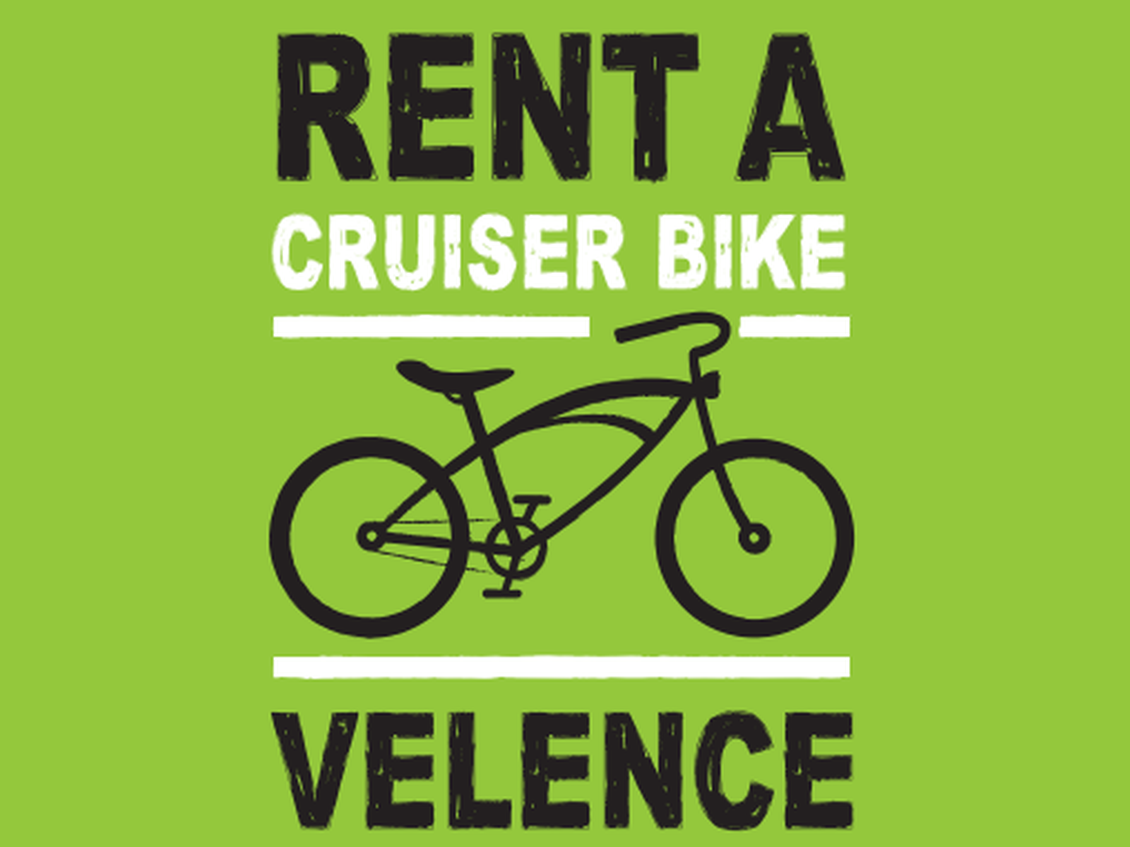 Rent a Cruiser Bike Velence